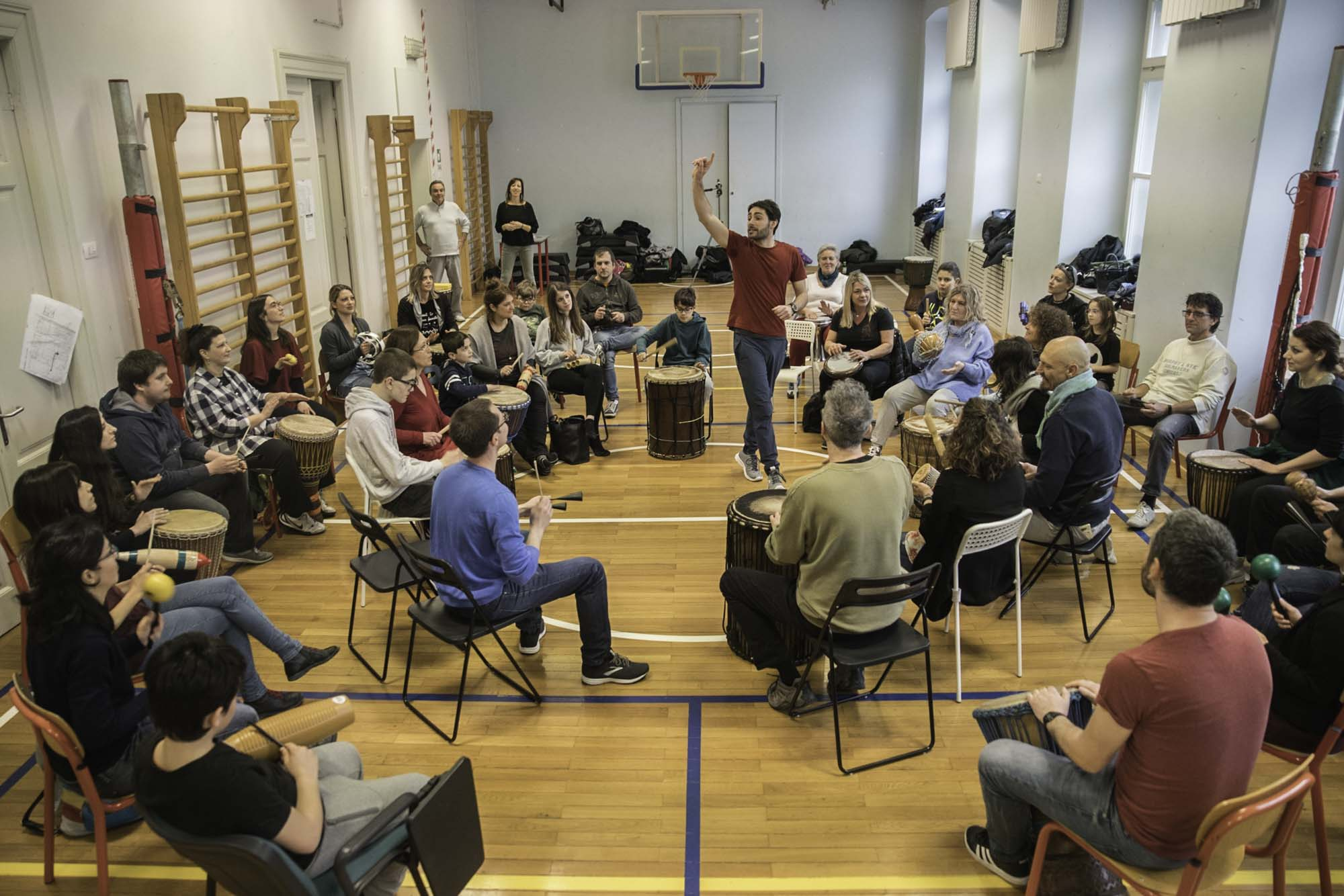 Luca Zugna Music Community Builder -Drum Circle